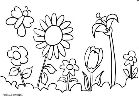 fiori farfalle e colori emozioni con disegni di fiori e