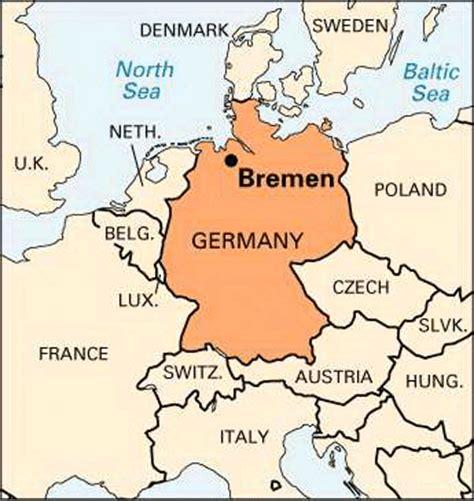 germany bremen map bremen location encyclopedia children s