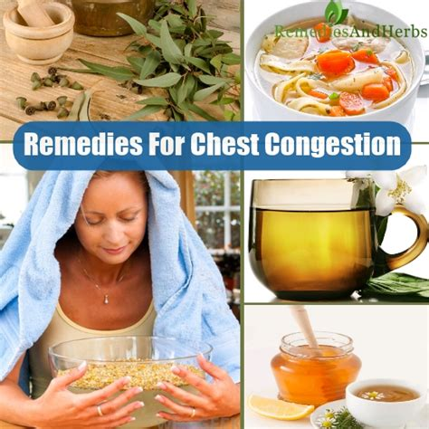 most effective home remedies for chest congestion diy