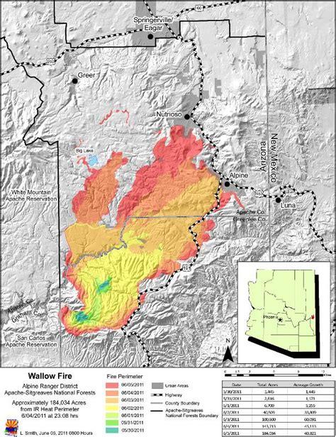 arizona wildfire map satellite images arizona wildfire 171 earth