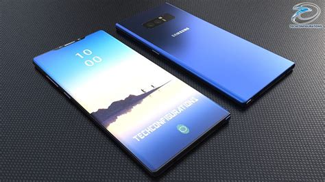 1 Samsung Galaxy Note 9 Phone Samsung Galaxy Note 9 Concept Just Got Rendered With 95 Screen To Ratio Concept Phones
