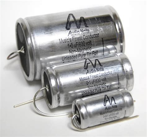 audio note silver capacitor audio note