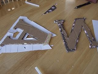 how to cover cardboard letters with fabric best 25 cardboard letters ideas on fabric