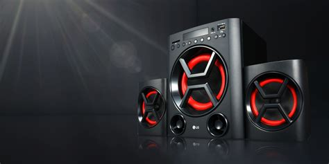 multimedia speakers powerful home theater systems lg