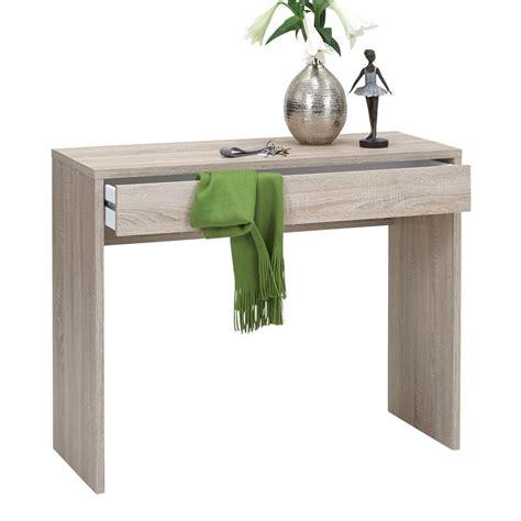 consolle scrivania consolle e scrivania cor con cassetto in essenza rovere