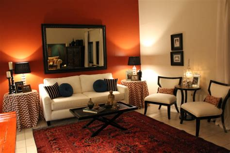 burnt orange and blue living room living room 301 moved permanently
