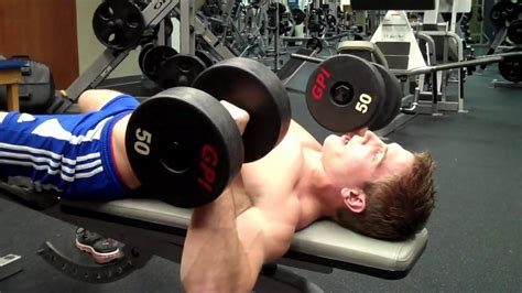 how to do bench press correctly how to dumbbell chest press youtube