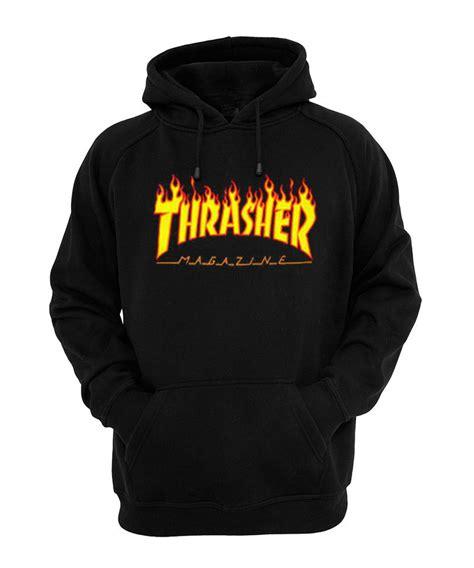 Hoodie Sweater Jumper Thrasher 1 thrasher hoodie