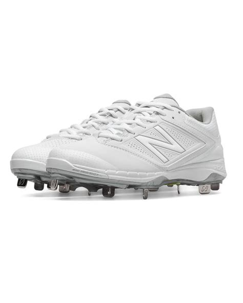New Balance Metal 4040v1 new balance low cut 4040v1 metal cleat in white for lyst