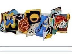 doodle espaã ol juan gris un doodle en pintor cubismo ideal