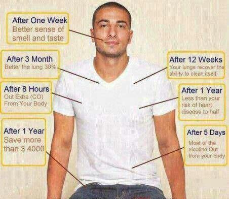 best 20+ effects of quitting smoking ideas on pinterest