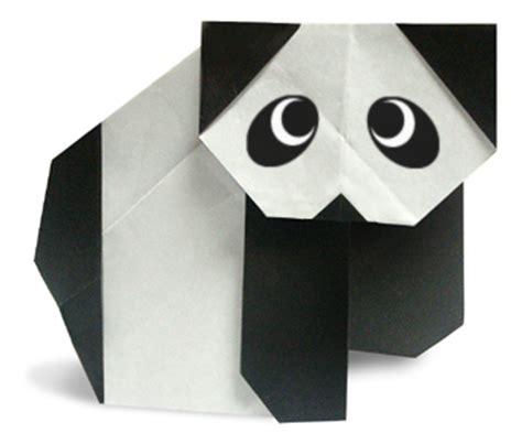easy origami panda origami panda