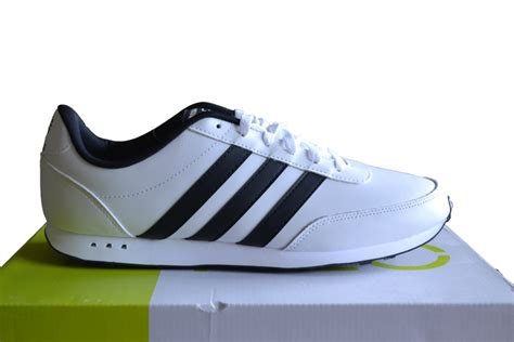 Adidas Neo V Leather Black adidas neo v racer leather s trainers white black