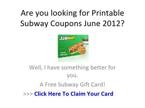 Printable Subway Coupons 2012 | printable subway coupons june 2012