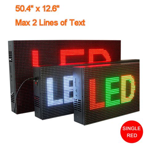 Running Text 20 X 135 Indoor led display sign electronic panel digital signs for business