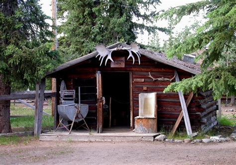 Small Log Cabin Floor Plans by Trapper S Cabin Museum At Moose Creek Lodge Photo 1