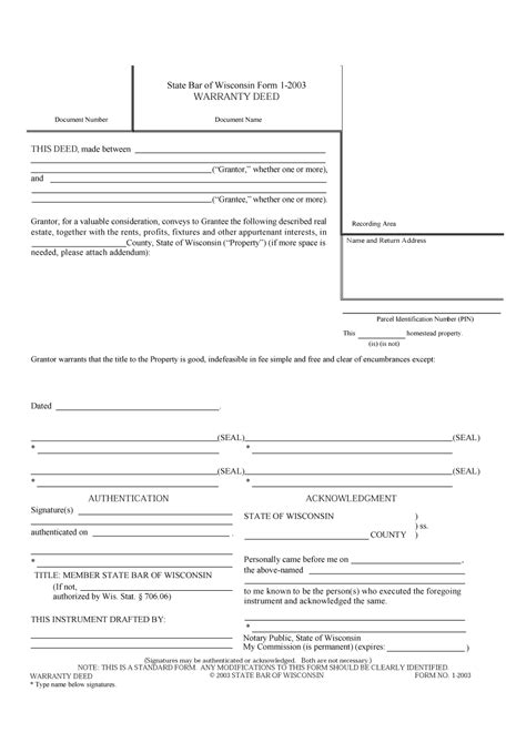 deed template free 43 free warranty deed templates forms general special