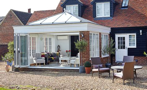 Bow Window Pictures orangery style conservatory extension anglian home