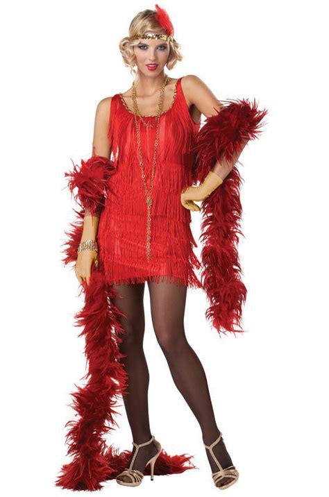 amazoncom california costumes womens fashion flapper great gatsby 1920 s fashion red flapper sexy women s