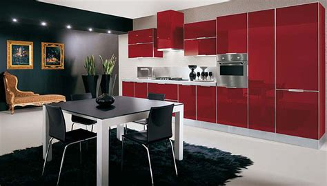 ultra glossy  sleek kitchen design crystallo