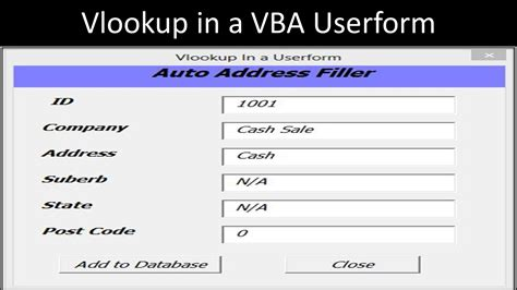 learn vlookup online excel userform templates seterms com