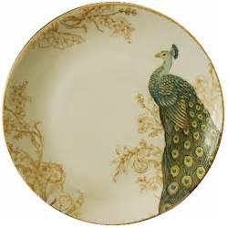 Serene Peacock Set 222 fifth serene peacock dinnerware