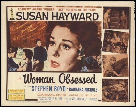 film about obsessed woman woman obsessed 1959 original movie poster fff 56345 fff