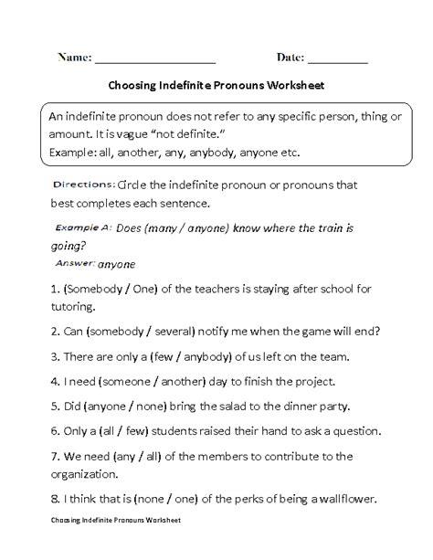 Pronoun Practice Worksheets High School 18 best images of subject verb worksheets high school