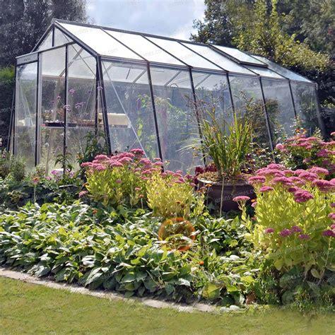 destockage serre jardin serre de jardin acd prestige paroi oblique serre jardin