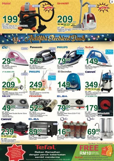Appliance Giveaway 2017 - aeon big raya appliance promotion catalogue until 15 june 2017