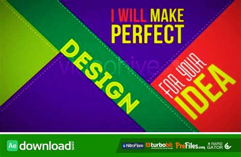 Promo Who I Am Videohive Template Free Download Free After Effects Template Videohive Free After Effect Promo Template
