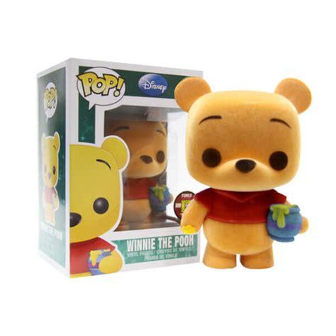 Funko Pop Winnie The Pooh Pooh Flocked funko winnie the pooh flocked pop vinyl pop in a box uk