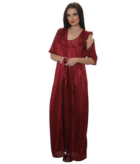 maroon r buy clovia maroon satin robe online at best prices in