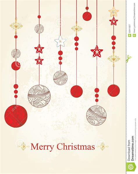 christmas and new years card stock vector image 32911927