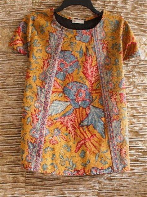Baju Atasan Wanita Blouse Musl Tunic Bordira Tunik my 3 negeri batik top by batik kultur style tops and chang e 3