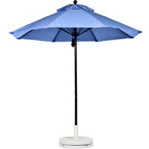 Industrial Patio Umbrellas Frankford Umbrellas Monterey Collection 11 Ft Commercial Fiberglass Market Umbrella With Pulley