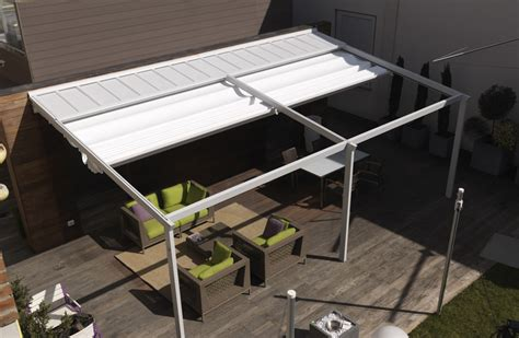 la pergola modulable toiture d 233 couvrable abri terrasse