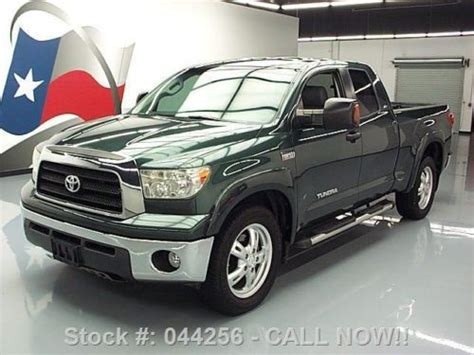 manual cars for sale 2008 toyota tundramax seat position control find used 2008 toyota tundra x sp double cab 5 7 leather 20 s 56k texas direct auto in stafford