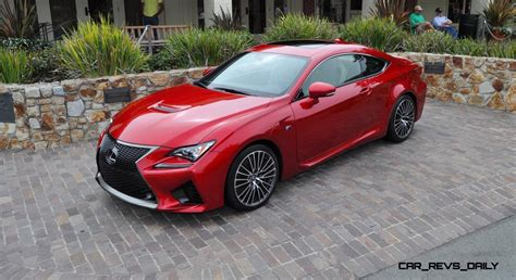2015 Lexus Rc F Ultra In Red Flawless Animations
