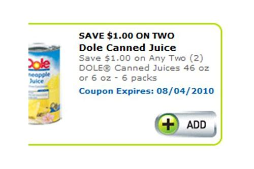 dole pineapples coupons