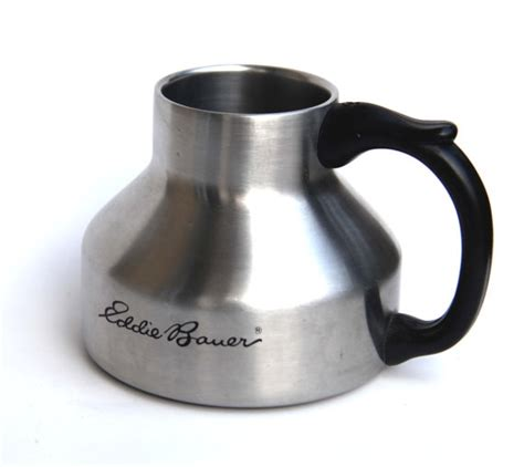 17 best images about wide bottom mugs on pinterest 1989 eddie bauer stainless streel travel mug no spill wide
