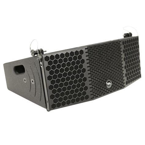 Speaker Acr Line Array seismic audio compact 2x5 line array speaker with titanium compression driver ebay