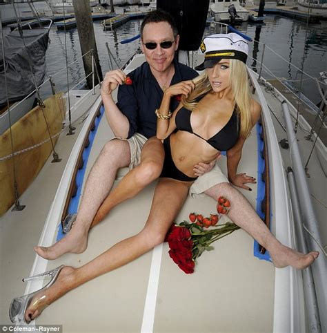 boat whore courtney stodden and doug hutchison recreate lady and the