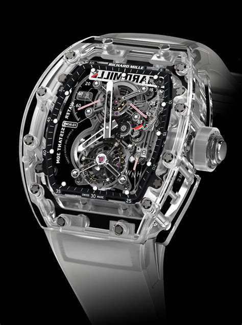 Richard Mille Rm56 1 Sapphire Glass 2 10 most expensive wrist watches nigerians may the