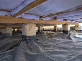 vapour barrier or underfloor insulation