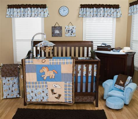 Cowboy Baby 4 Pc Crib Bedding Set Natural Baby Care Solutions Cowboy Crib Bedding Sets