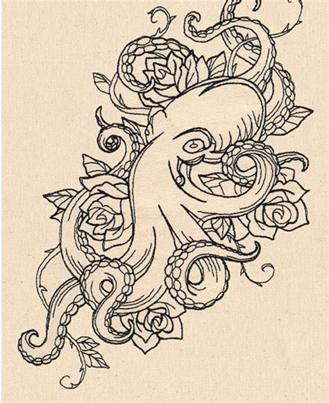 octopus tattoo design octopus pinteres