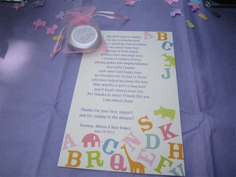 Baby Shower Poems by Baby Shower Poem Ideas