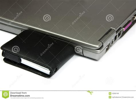 Hardisk Laptop External laptop with external usb disk royalty free stock image image 12265146