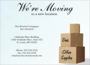 business moving announcement template new location moving card moving announcements from business relocation notice submited images